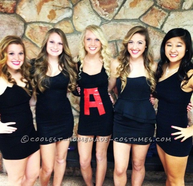 Pretty Little Liars Girl Group Costume ...This website is the Pinterest of costumes @Becca S and @Jessie S!!
