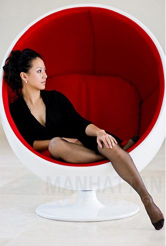 Ball Chair By Eero Aarnio   Very Colourful And Cosy