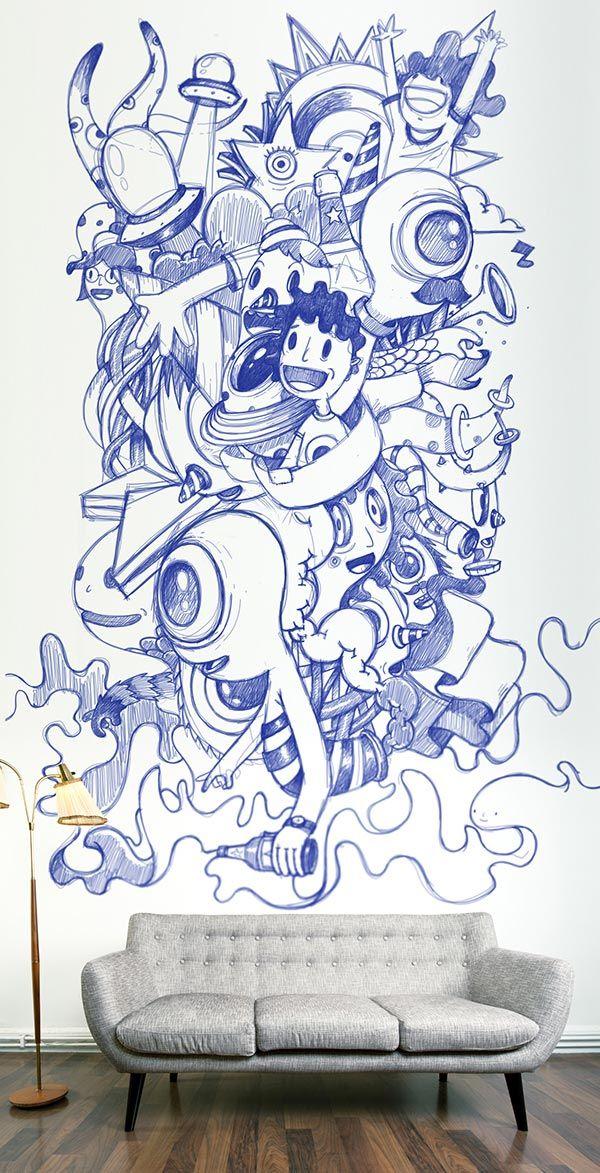 Les 25 meilleures id es concernant fresque sur pinterest for Fresque murale carrelage