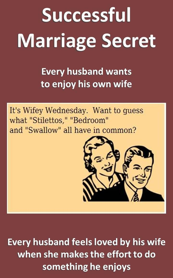 Wife Tries To Swallow