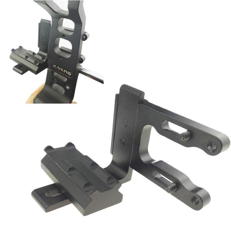 Bow Sight Bracket Compound Archery Scope Bracket Mount Red Dot Laser Sight Reflex Sight RH/LH Recurve Bow Compound Bow