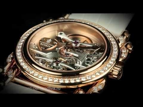 """часы Manufacture Royale в ломбарде """"ПЕРСПЕКТИВА"""" Manufacture Royale ANDROGYNE  ROSE GOLD & DIAMONDS полный комплект . Абсолютно новые Цена у нас 45,000 $"""