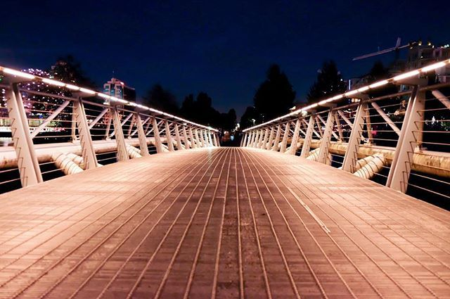 """BRIDGE ALONG THE SEAWALL IN OLYMPIC VILLAGE""- OLYMPIC VILLAGE WALK"