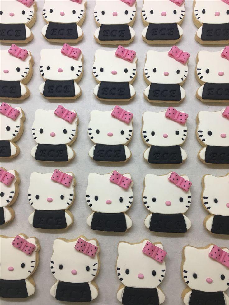 Hello Kitty Cookie   Didem Kaçar Cake&Cookie  Didem Kaçar Pasta&Kurabiye