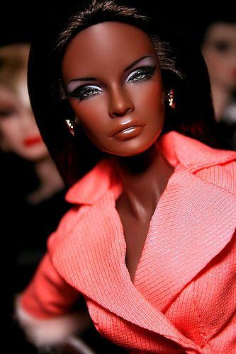 Beautiful Black Barbie doll!