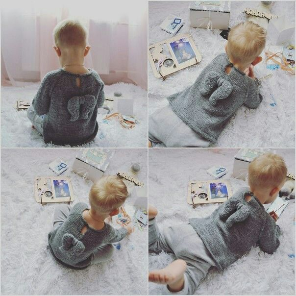 Little angel.Свитер ангел,детский свитер.Свитер без швов