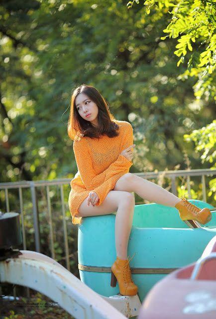 CuteKorean: Shin Hae Ri outdoor