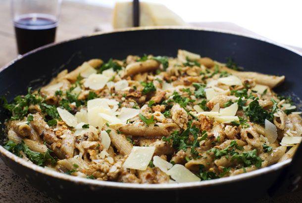 Pasta med valnötssås | Köket.se