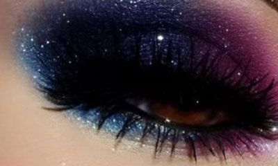 Galaxy Stars - Click Pic for 18 Makeup Tips for Brown Eyed Girls
