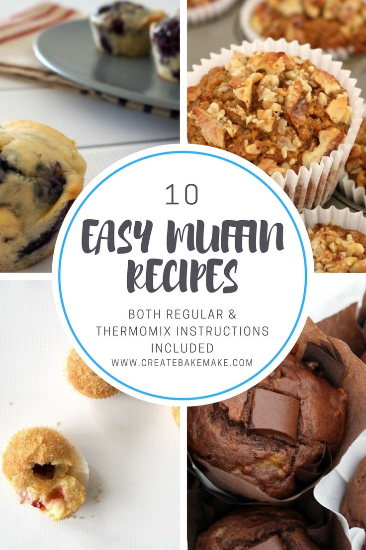Thermomix Easy Muffin Recipes