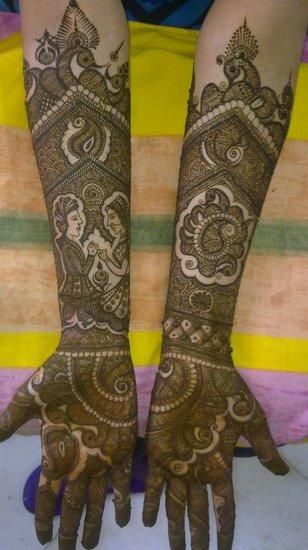 Mehandi Henna Reviews : Rakesh bridal mehendi artist info review