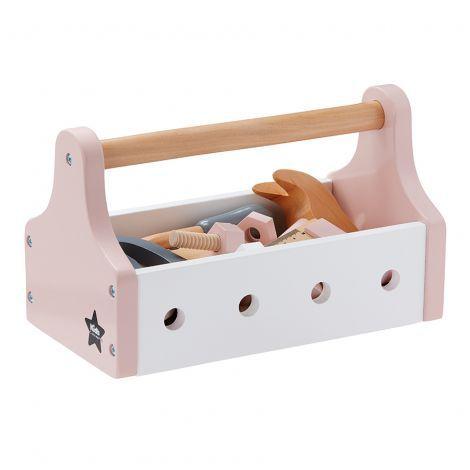 Kids Concept Werkzeugkiste Rosa – Auch kleine Mädchen haben handwerkliches Gesc… – Chris Tina