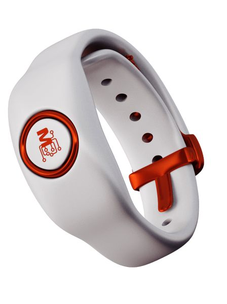 Bracelet for healthcare data and fitness monitoring. Designed for physiological and biomechanical monitoring with complete health data visualization. Collected Bio-Signals: 1 Channel ECG, Temperature, Sleep Pattern, SpO2, RR, HRV, Hydration and Fall Detection, GPS.