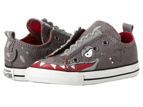 Converse Kids Chuck Taylor All Star Simple Slip Ox (Infant/Toddler) Grape  Leaf