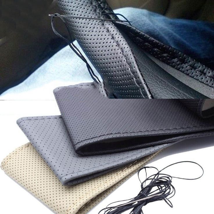 1 CÁI DIY Chỉ Đạo Car Wheel Cover Với Needles và Chủ Đề Nhân Tạo leather Chỉ Đạo Bánh Xe Hubs Chỉ Đạo Wheel bộ dụng cụ diy