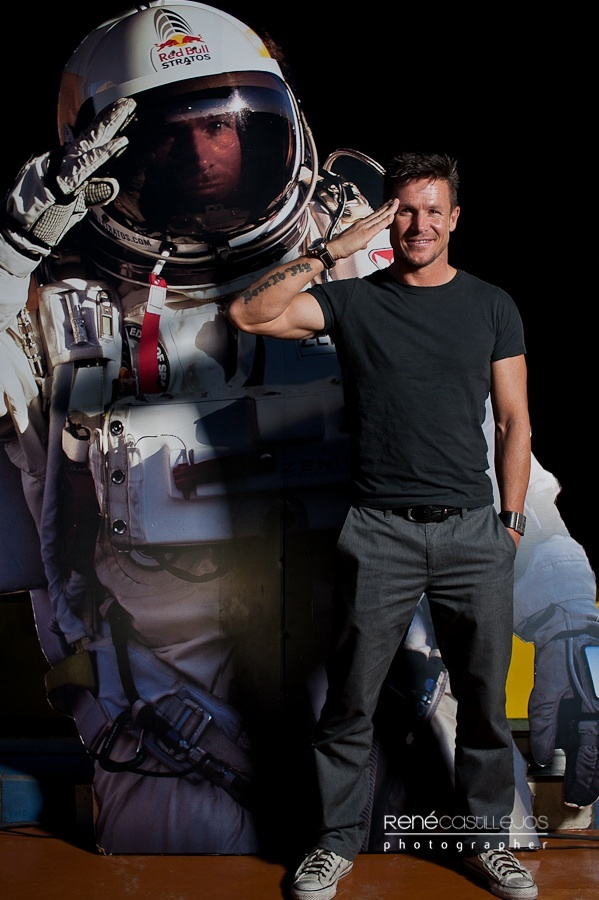 Wonderful photo of Felix Baumgartner : I love this guy and his zest for life! (and he's a total hottie too!)