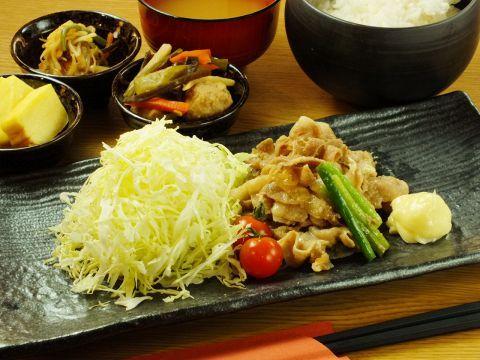 [11:00~営業]日替わり定食を580円(税抜)~ご用意しております
