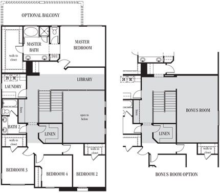 1000 images about dream floor plans from lennarlv on for 2 bedroom house plans with bonus room