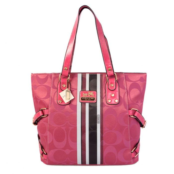 Coach Logo Monogram LZ1118 Tote In Rose