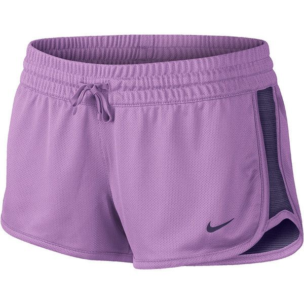 Nike Gym Reversible Shorts Purple ($25) ❤ liked on Polyvore featuring activewear, activewear shorts, shorts, athletic shorts, athletics, exersise, nike, nike sportswear, athletic sportswear and nike activewear
