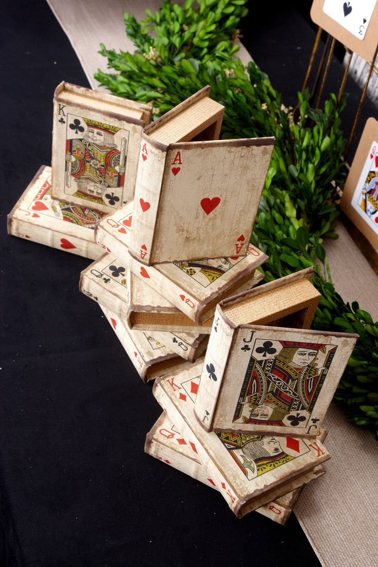 Jogando caixas cartão Reserve (conjunto de 16)