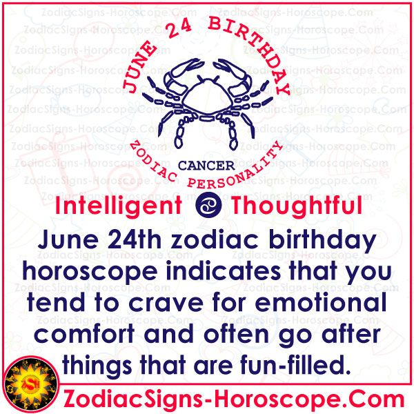 June 24 Zodiac Complete Birthday Personality And Horoscope Birthday Personality June 30 Zodiac Birthday Horoscope