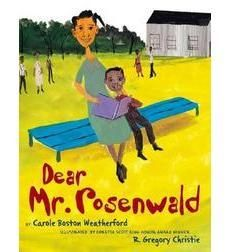 """""""Illustrated by Coretta Scott King Honor Award winner R. Gregory Christie, this book shows the philanthropy of Julius Rosenwald, who was inspired by Booker T. Washington to build schools for African Americans in the South.""""  I know there are Rosenwald schools near me still standing.  Now I want to go find one and just soak it in."""