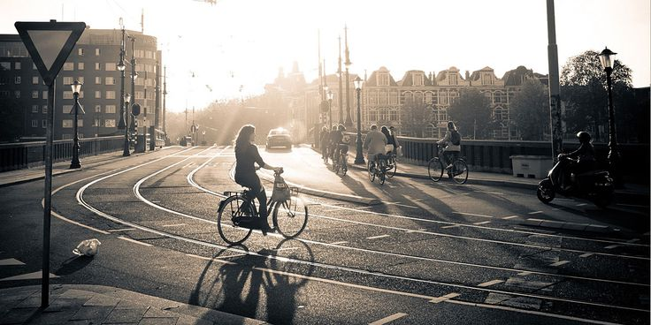 Cityscapes Bicycles Twitter Cover & Twitter Background | TwitrCovers