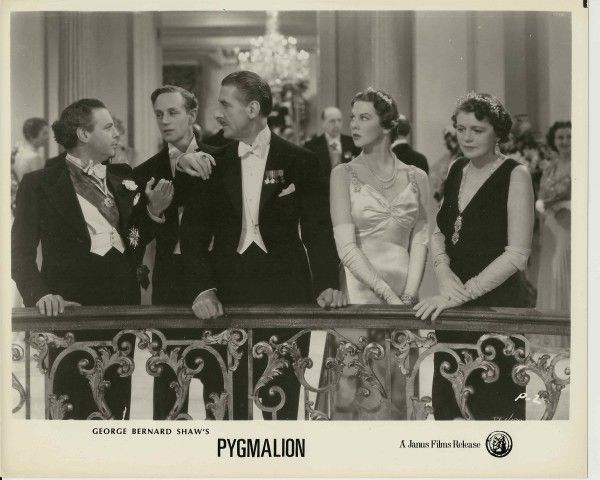 pygmalion movie analysis Opening credits prologue: pygmalion was a mythological character who dabbled in sculpture he made a statue of his ideal woman-galatea it was so beautiful that he prayed the gods to give it life.