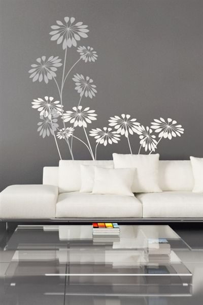 precious flowers wall art design - Wall Art Design