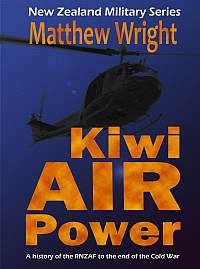 Kindle edition cover of my book 'Kiwi Air Power' (Reed 1998/Intruder Books 2015).