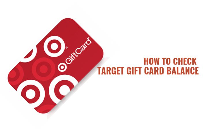 Check balance target gift card in 2020 target gift cards