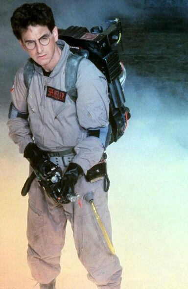 Harold Ramis in Ghostbusters. I had SUCH a crush on him in this!