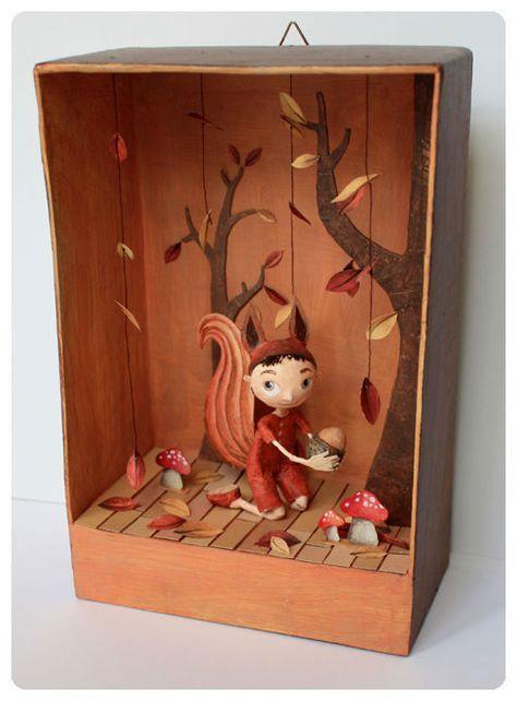 44 Best Creative Dioramas Images On Pinterest Diorama