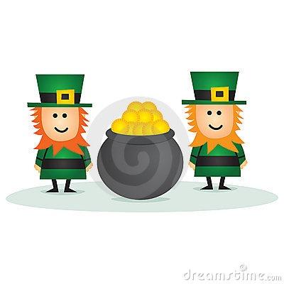 St Patricks Day Leprechaun by Walter Wynne, via Dreamstime