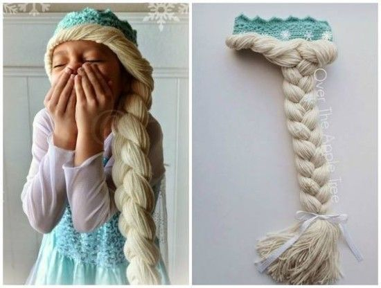 how to make elsa braid hair