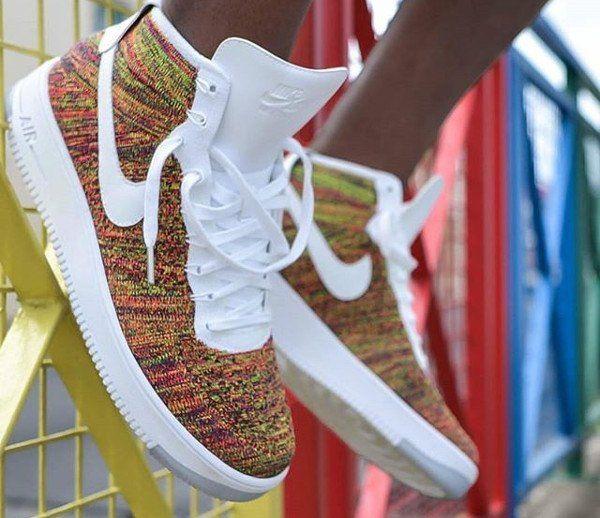 Chubster favourite ! - Coup de cœur du Chubster ! - shoes for men - chaussures pour homme - Nike Air Force 1 Ultra Flyknit 'Multicolor'
