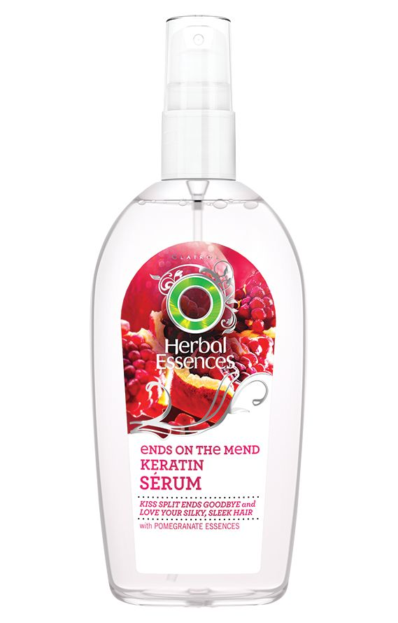 Long Term Relationship Ends on the Mends Keratin Serum | Herbal Essences