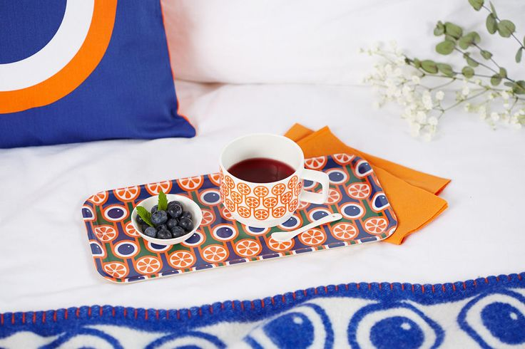 Hokolo blueberries oranges tray