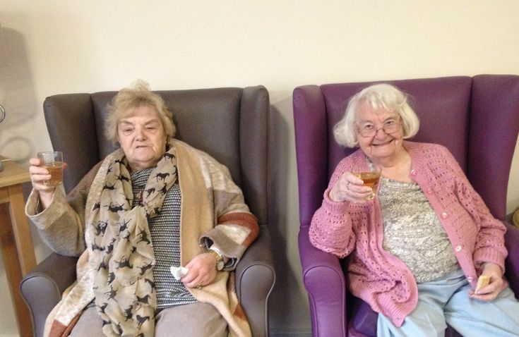 Burns night celebrations - Birch Green Care Home Skelmersdale