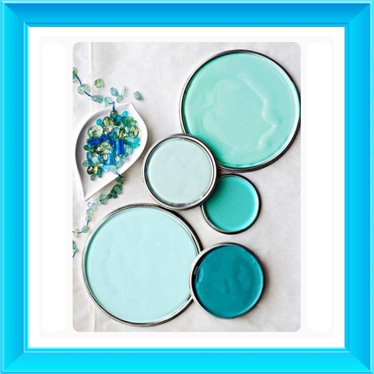 Different Shades Of Blue Paint 10 best paint it! images on pinterest | paint colors, wall colors