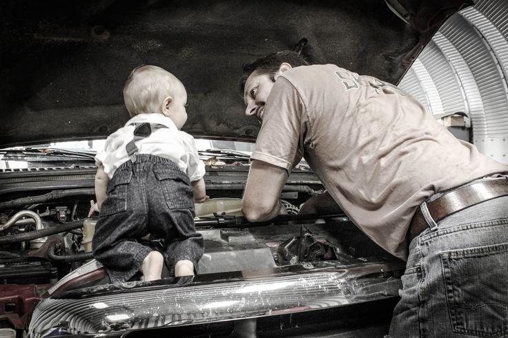 Padre e hijo♡!
