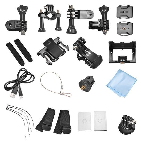 GitUp Git2P Pro 2K WiFi Action Camera 170 Degree Lens Sport DV Sale - Banggood.com