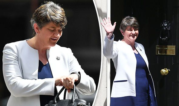BREAKING: DUP's Arlene Foster back in London to finalise Government pact with May - http://buzznews.co.uk/breaking-dups-arlene-foster-back-in-london-to-finalise-government-pact-with-may -