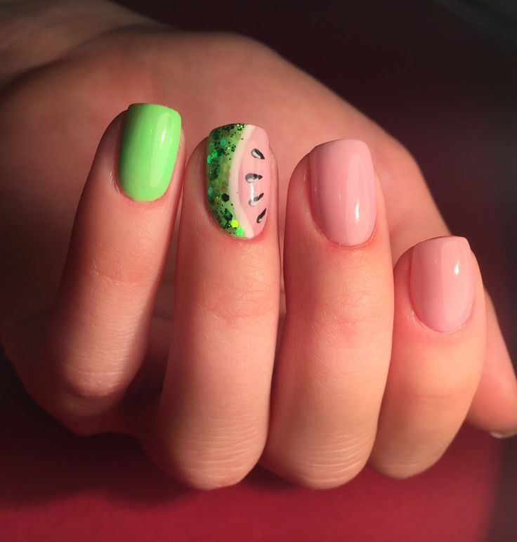Watermelon ❤️ #nails