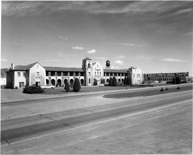 Alexander Film Co later the KKTV studios ~ N. Nevada Avenue ~ Colorado Springs Colorado ~ 1954