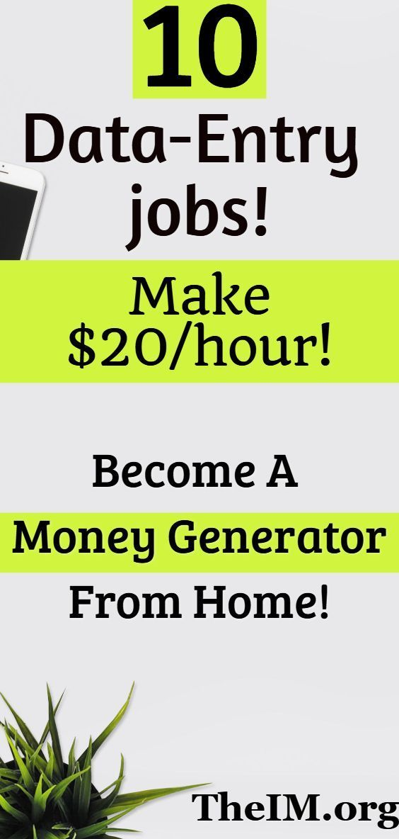 10 Awesome Ways To earn Money From Data Entry Jobs…