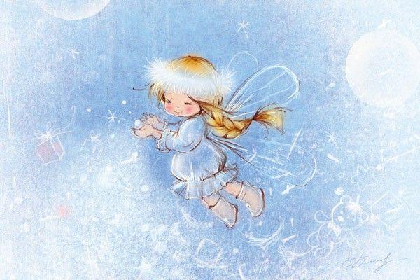 "Babok Ekaterina ""Snow fairy"""