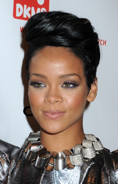 Rihanna's Mohawk . NECKLACE