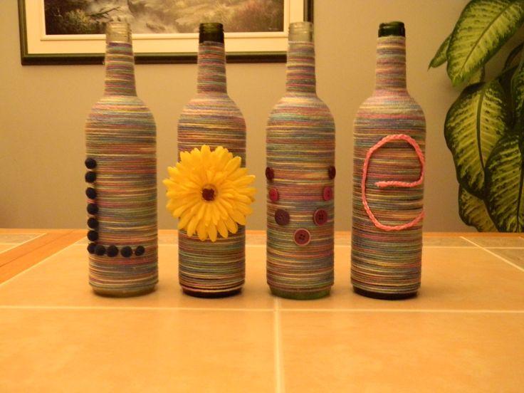 Ensemble de bouteilles / Wine bottle set